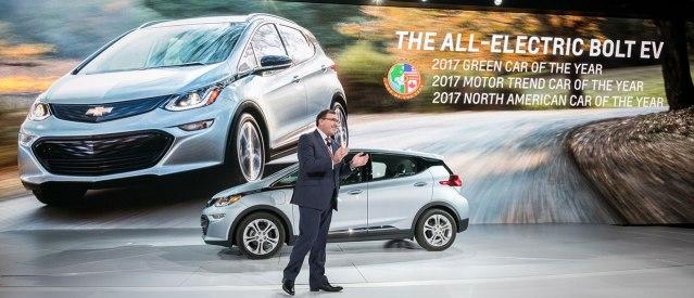 Chevrolet Bolt Ev El Auto Del Ao 2017 Y La Empresa Tambin Apuesta